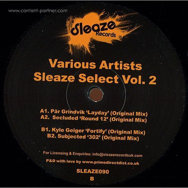 Sleaze Records - Select Vol. 2