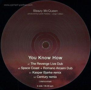 Sleazy Mcqueen - You Know How Ep (Kasper Bjorke rmx)
