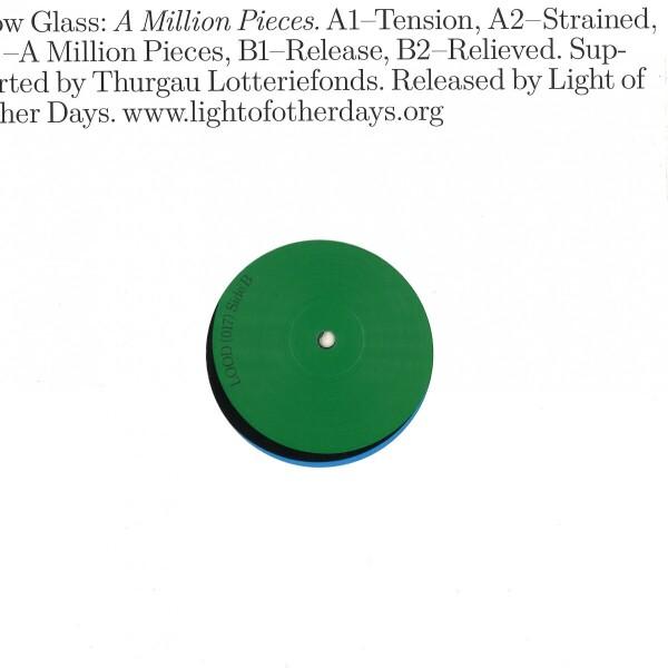 Slow Glass - A Million Pieces (Back)