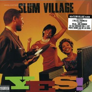 Slum Village - Yes (LP)