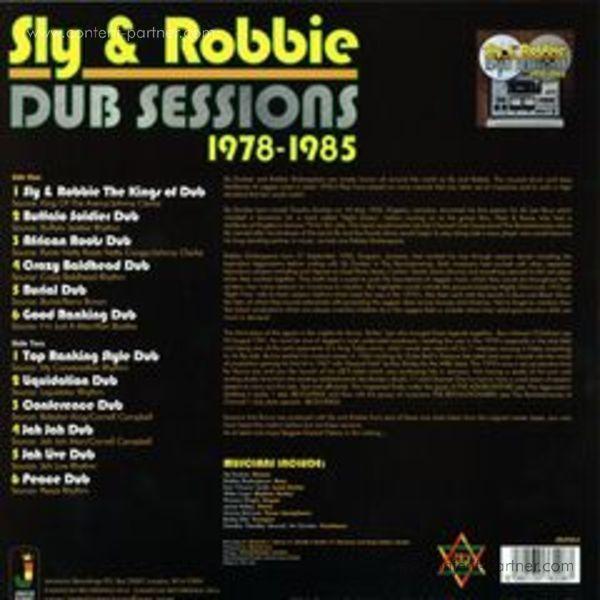 Sly & Robbie - Dub Sessions 1978-1985 (LP) (Back)