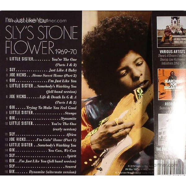 Sly Stone / Various - I'm Just Like You: Sly's Stone Flower (Back)