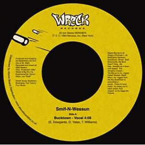 Smif-N-Wessun - Wrekonize (Remix) (Back)