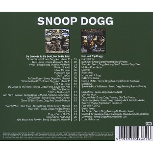 Snoop Dogg - 2in1 (Da Game Is To Be Sold.../No Limit (Back)
