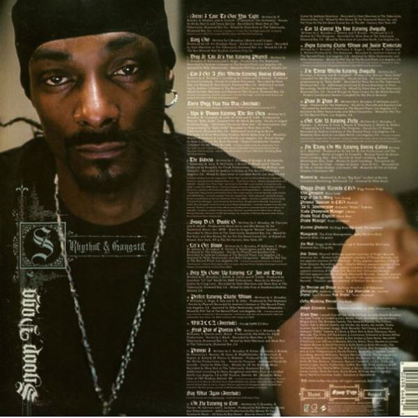 Snoop Dogg - R&G (Rhythm & Gangsta) - The Masterpiece (2LP) (Back)