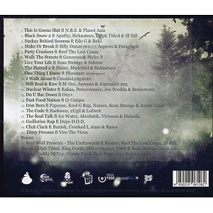 Snowgoons - Black Snow 2 (Back)