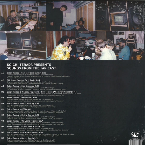 Soichi Terada Presents - Sounds From The Far East (Back)