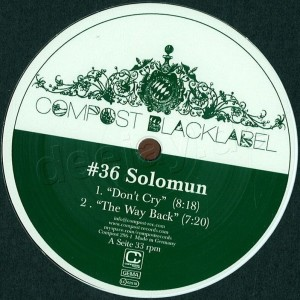 Solomun - Compost Black Label 36 (Back)