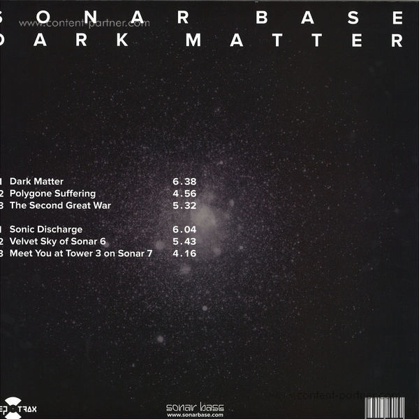 Sonar Base - Dark Matter (Back)