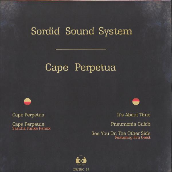 Sordid Sound System - Cape Perpetua (Back)