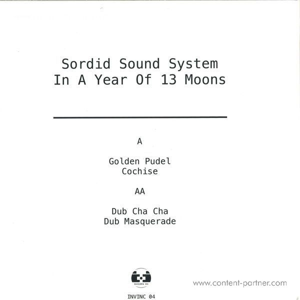 Sordid Sound System - In A Year Of 13 Moons EP (Back)