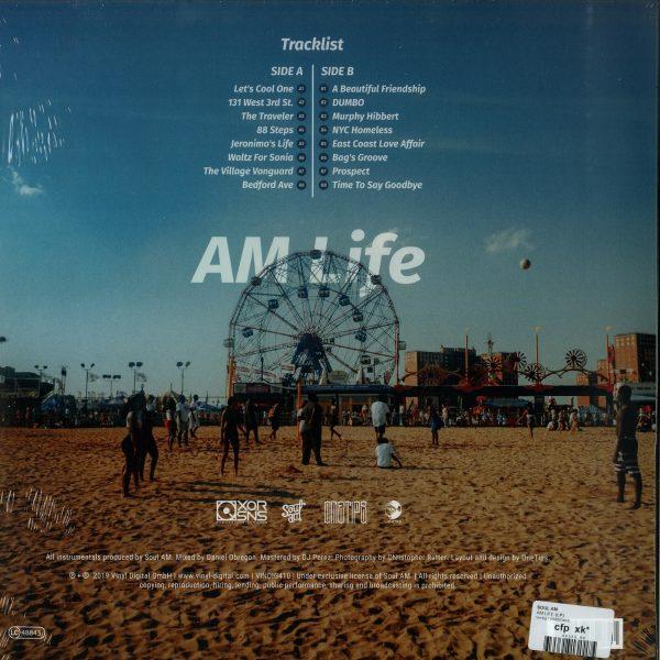 Soul AM - AM Life (LP) (Back)