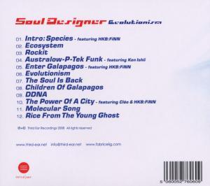 Soul Designer - Evolutionism (Back)