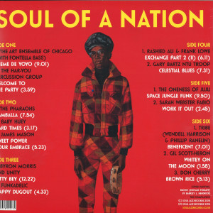Soul Jazz Presents V.A. - Soul Of A Nation: Jazz Is the Teacher... (3LP) (Back)