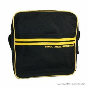 Soul Jazz Records Bag - Black / Yellow Bag 12''
