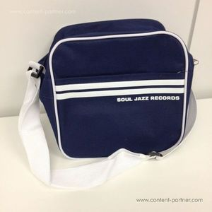 Soul Jazz Records Bag - Classic Navy Blue/White 7