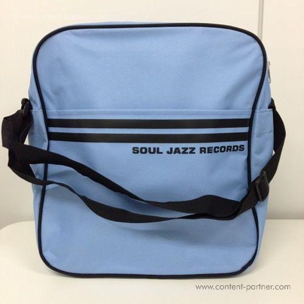 Soul Jazz Records Bag - Powder Blue/Black 12