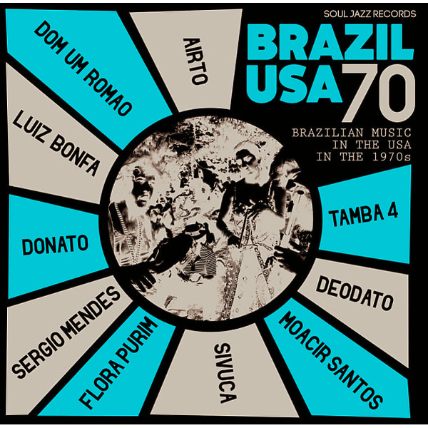 Soul Jazz Records Presents Various Artists - Brazil USA 70 - 2LP