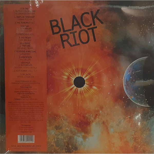 Soul Jazz Records Presents - Black Riot: Early Jungle, Rave And Hardcore (2LP) (Back)