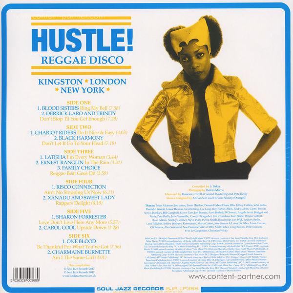 Soul Jazz Records Presents - Hustle! Reggae Disco: Kingston, London, New York (Back)