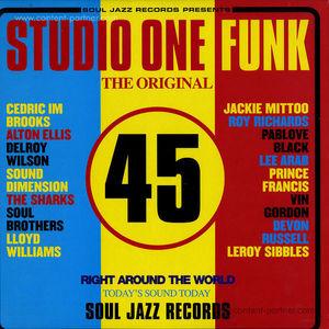 Soul Jazz Records Presents/Various - Studio One Funk