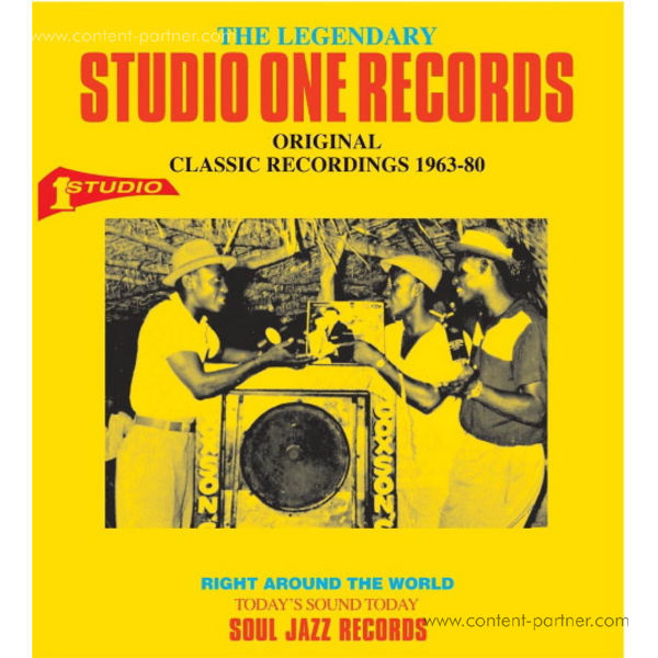 Soul Jazz Records presents - The Legendary Studio One Records