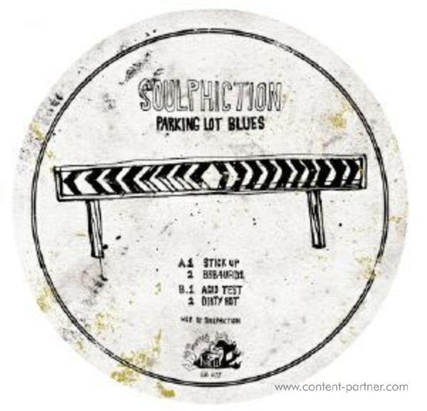 Soulphiction - Parking Lot Blues Ep (Back)