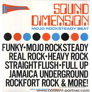 Sound Dimension - Mojo Rocksteady Beat - 2LP Repress