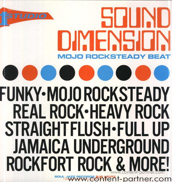 Sound Dimension - Mojo Rocksteady Beat - 2LP Repress