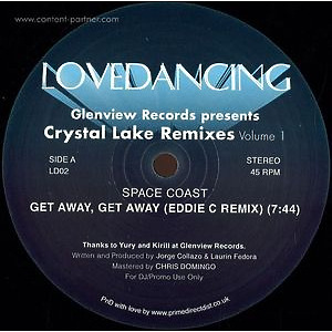 Space Coast - Glenview Records Presents Crystal Lake Rmx Vol 1