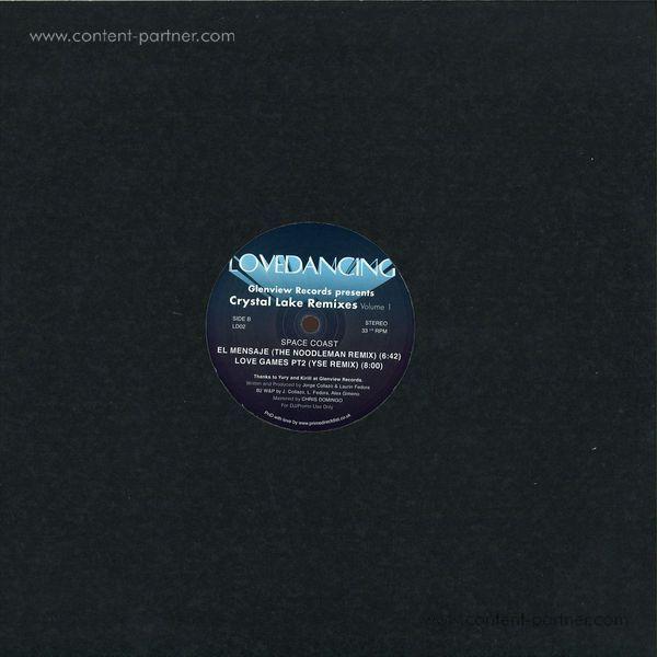 Space Coast - Glenview Records Presents Crystal Lake Rmx Vol 1 (Back)
