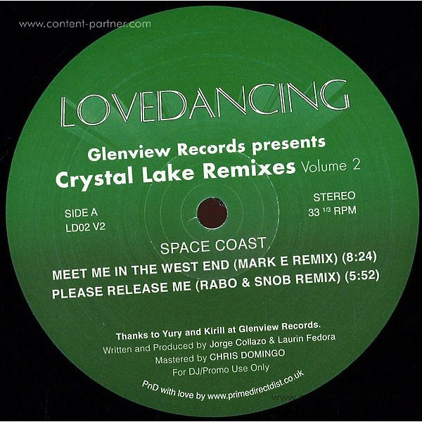 Space Coast - Glenview Records Presents Crystal Lake Rmx Vol 2