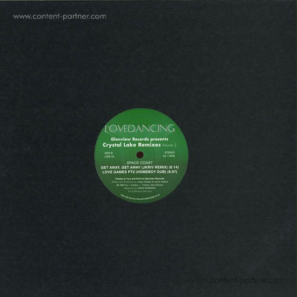 Space Coast - Glenview Records Presents Crystal Lake Rmx Vol 2 (Back)