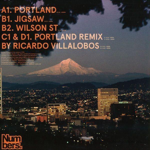Sparky - Portland (Ricardo Villalobos Remixes) (Back)