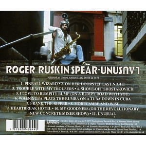 Spear,Roger Ruskin - Unusual (Remastered Edition) (Back)