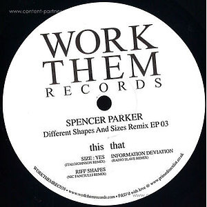 Spencer Parker - Different Shapes And Sizes Remix Ep 03