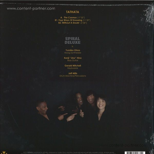 Spiral Deluxe (jeff Mills / Gerald Mitchell / Kenj - Tathata (Back)
