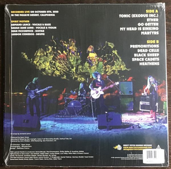Spirit Mother - Live In the Mojave Desert Vol. 3 (Ltd. Coloured) (Back)