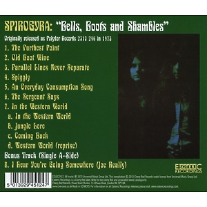 Spirogyra - Bells,Boots And Shambles (Back)