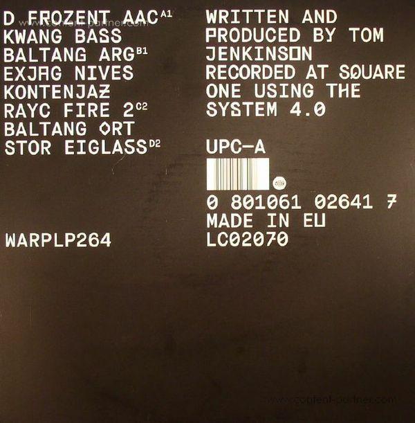 Squarepusher - Damogen Furies (2LP+MP3) (Back)