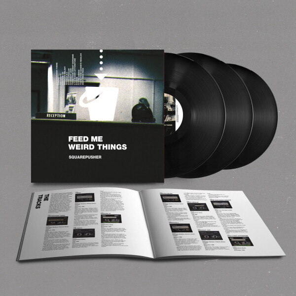 Squarepusher - Feed Me Weird Things (Remastered 2LP+10''+MP3) (Back)