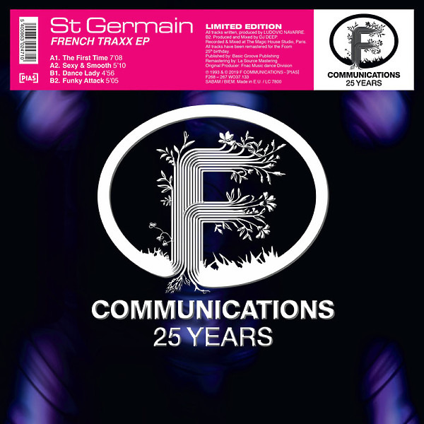St Germain - French Traxx EP (Remastered)