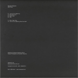 Stanislav Tolkachev - Right Angle EP (2019 Repress) (Back)