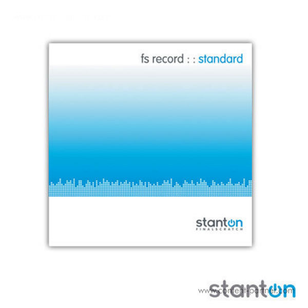 Stanton timecode vinyl - final scratch 180g