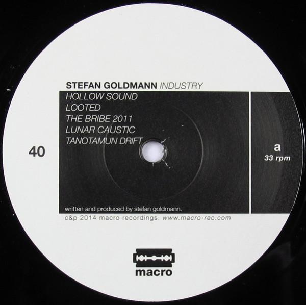 Stefan Goldmann - Industry (Back)
