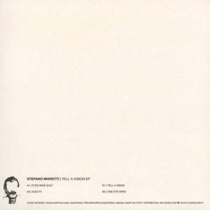 Stefano Moretti - Tell A Vision EP (Back)