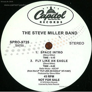 Steve Miller Band - Fly Like An Eagle (LP) [Back to Black]