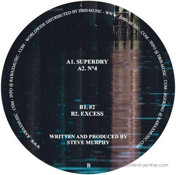 Steve Murphy - Superdry EP (Back)