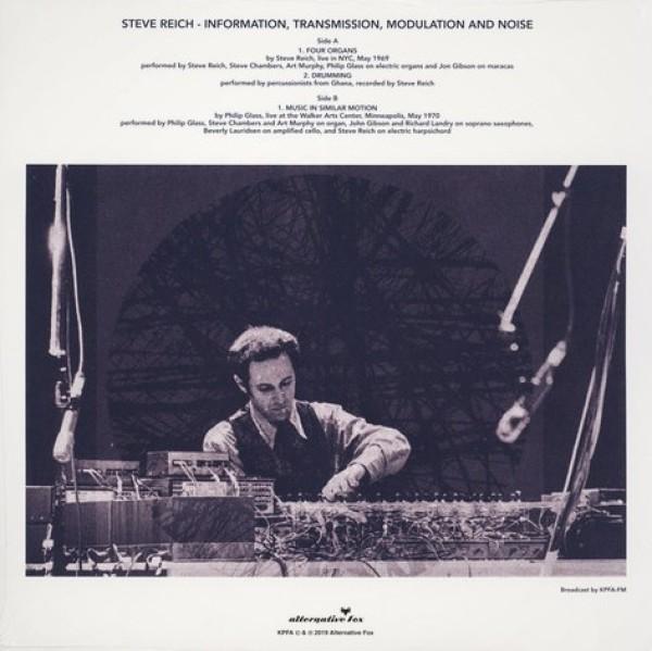 Steve Reich - Information Transmission, Modulation and Noise (Back)