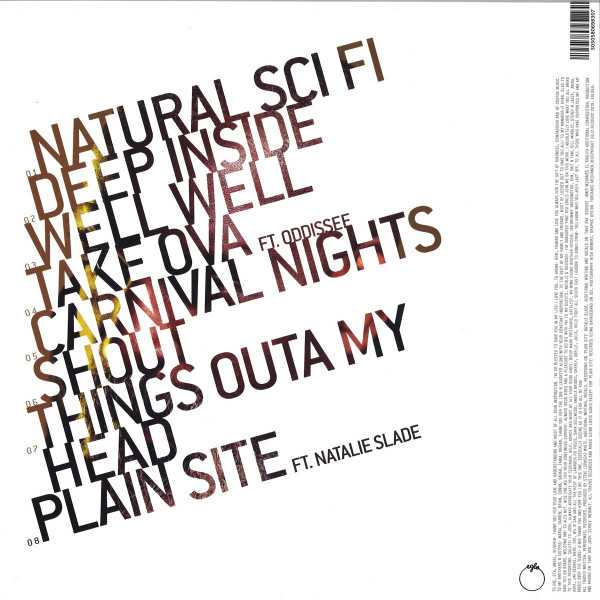 Steve Spacek - Natural Sci-Fi (LP) (Back)